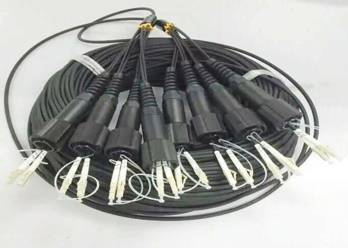 8 Core Outdoor Fiber Optic Cable / Singlemode Or Multimode Fiber Optic Cable