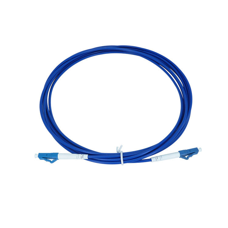 Industrial Simplex  G657A1 3.0mm Armored Patch Cord Blue Color